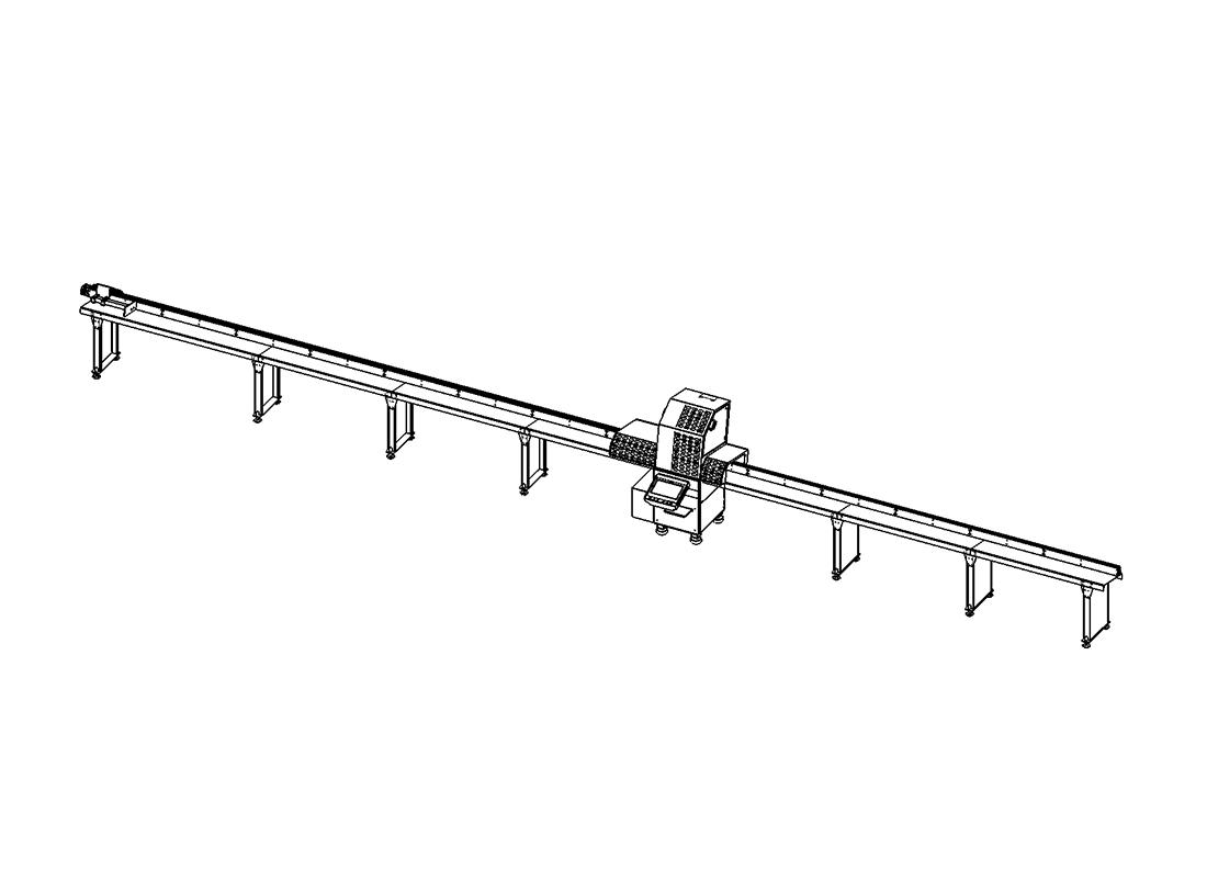 RS-5500H - Panjur Profil Kesim Makinesi